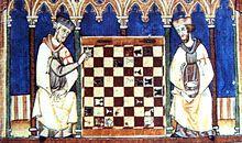 Caballero templario jugando al ajedrez, Libro de los juegos (1283) TECNOLOGÍA MEDIEVAL