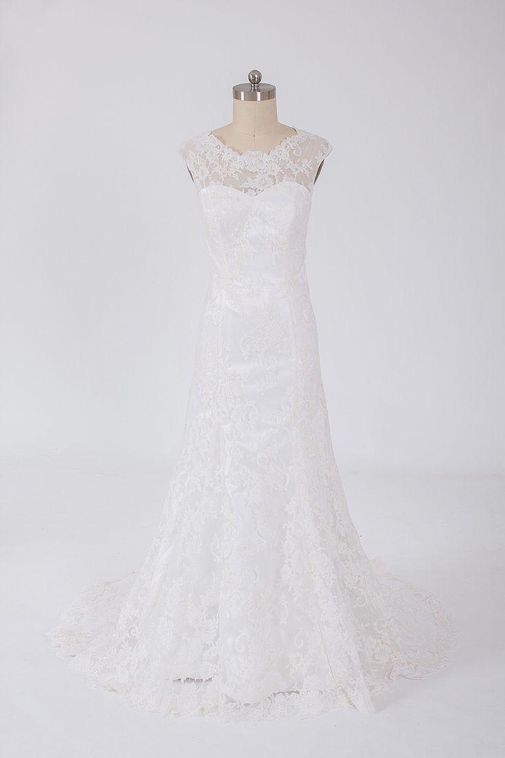 Trumpet lace wedding dress ,Style No.0bg02053,US$66.00
