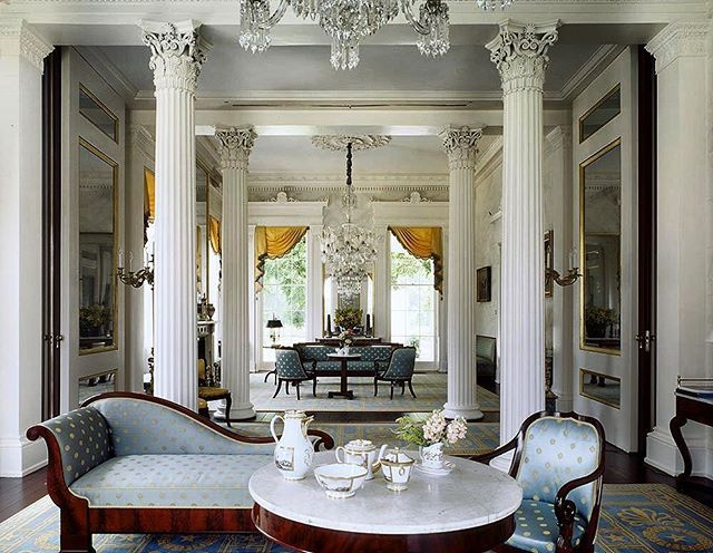 Nearly All Of Furniture Is Duncan Phyfe U0026 Son, Early (image: Classical American  Homes Preservation Trust)