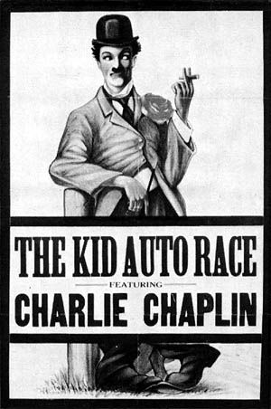 The Kid Auto Race  Movie Poster - 1914