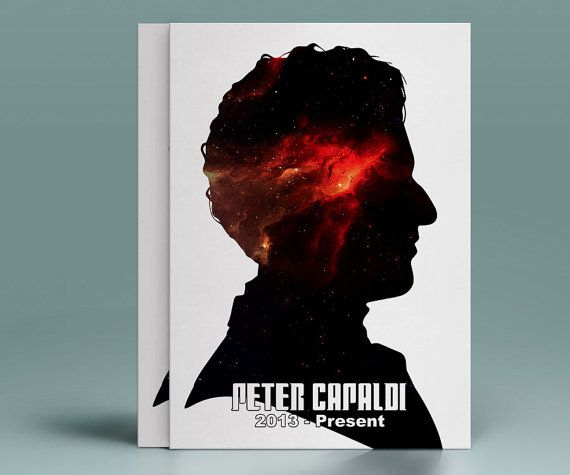 12 Doctor Who - Peter Capaldi - The Twelfth Doctor - INSTANT DIGITAL DOWNLOAD Print
