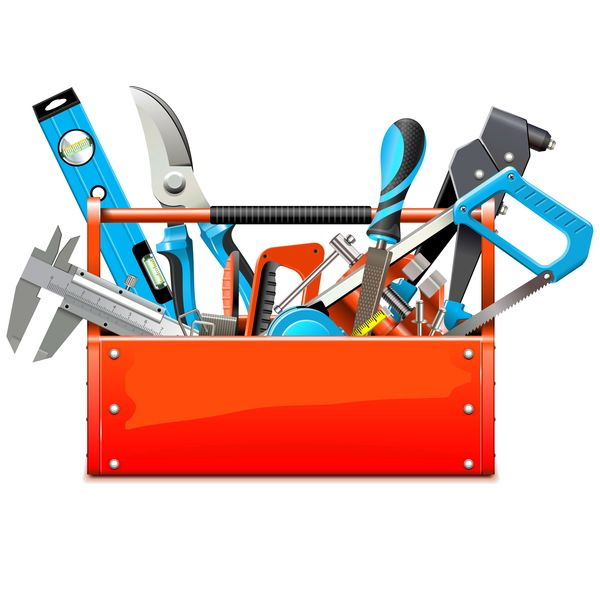 Toolbox With Hand Tools Vector Free Eps File Toolbox With Hand Tools Vector Download Name Toolbox With Hand Tools Vector Files Tool Box Tools Tool Design