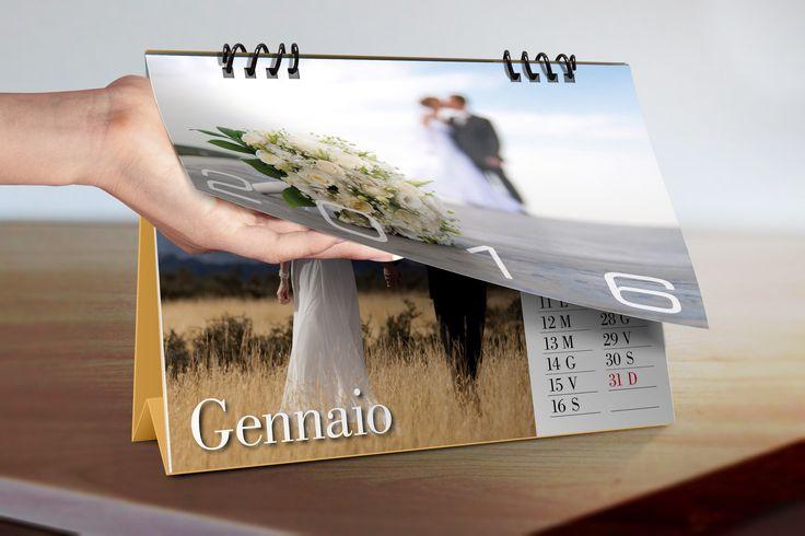 Calendario da tavolo, completamente personalizzabile!