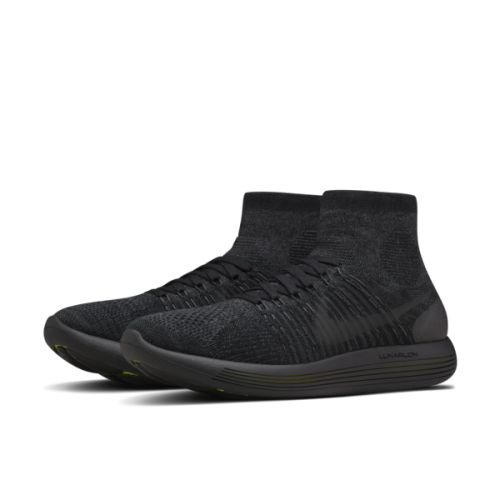 Ann Demeulemeester Black Free RN Motion Sneakers
