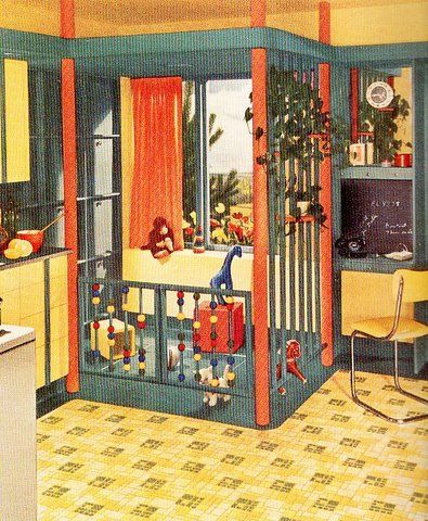 Seriously, why aren't we still designing kitchens like this?! Brilliant!  retro-versatile-armstrong-kit1