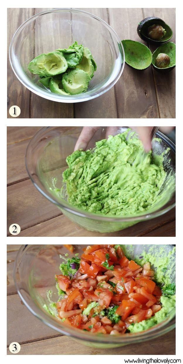 Quick and Easy Homemade Guacamole Recipe