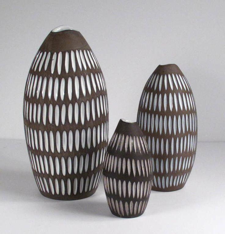 Set of Ingrid Atterberg Ceramics for Upsala Ekeby at 1stdibs