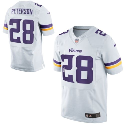 NFL 28 Team Road Two Tone Minnesota Vikings Men Jersey Nike Adrian Peterson  . 13ed26232