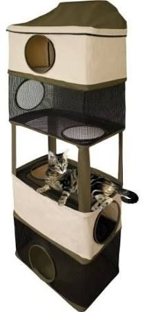 Cat Trees With Litter Box Google Search Cats Dogs