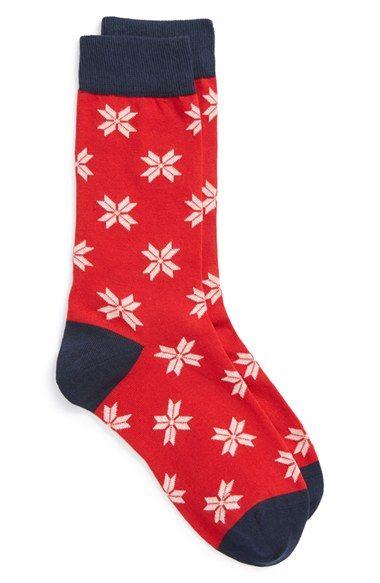 Corgi Fair Isle Knit Cotton Blend Socks | Products | Pinterest ...
