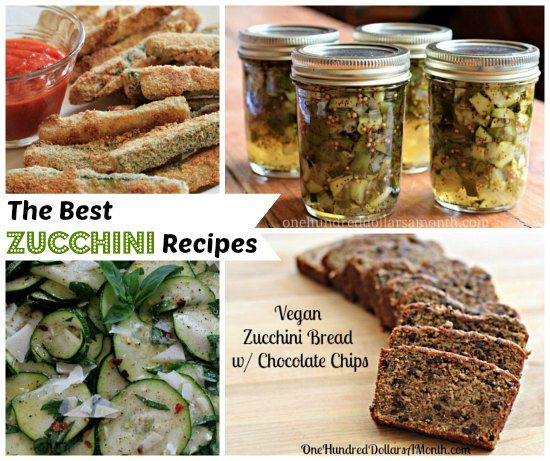 Recipes: The Best Zucchini Recipes