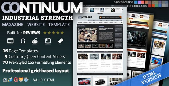 52 best Review Type WordPress images on Pinterest | Website template ...