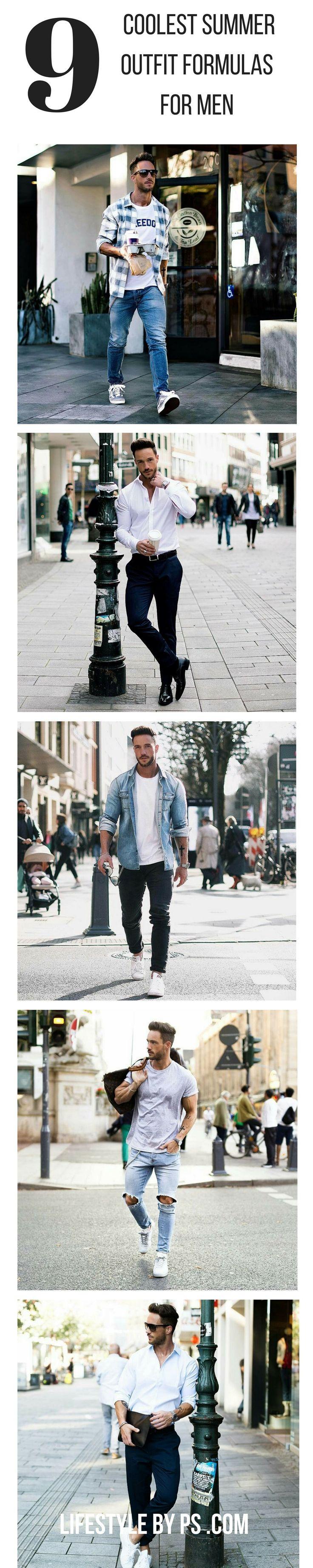 Coolest Summer Outfit Formulas For Men.