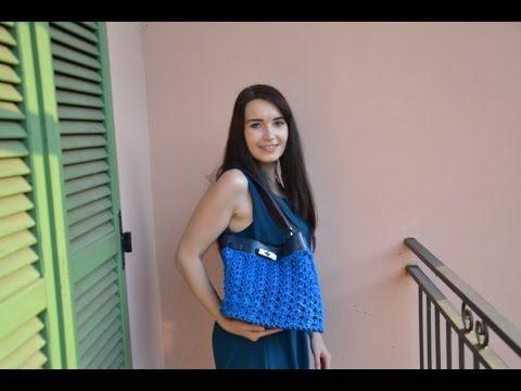 Borsa crochet Electra   Bolsa de ganchillo   Video tutorial - YouTube