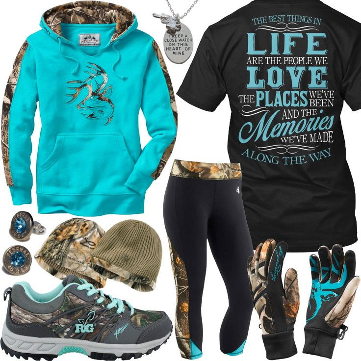 Best Things In Life Camo Gloves Outfit - Real Country Ladies