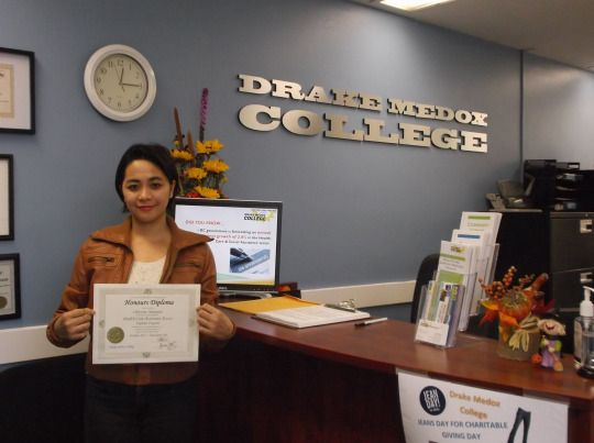 Congratulations to our HCA student Maecy Rivera and Christine Malapote