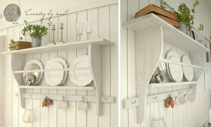 Snickra en tallrikshylla i lantlig stil - Hus & Hem