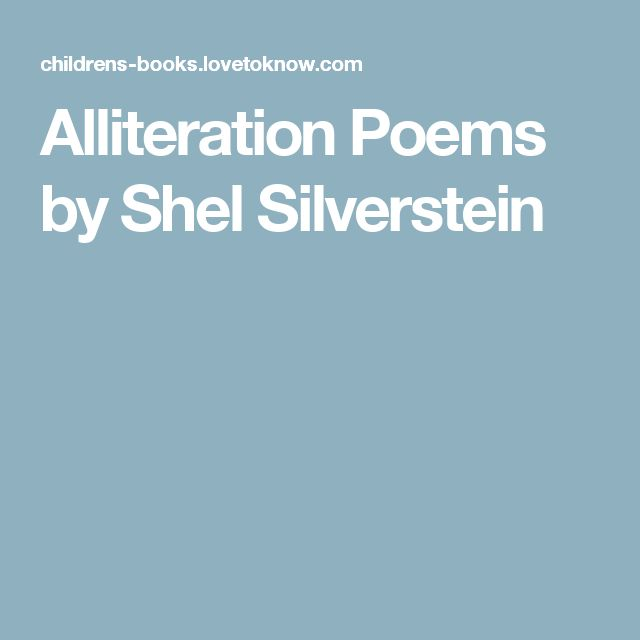17 best ideas about Poems By Shel Silverstein on Pinterest ...