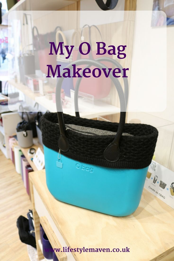 OMG, my O bag has had a makeover. With these accessories it looks completely different. Check out the blog for an exclusive giveaway for readers from O bag.