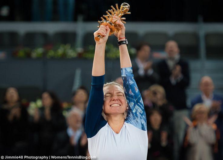 Simona Halep skirts ballboy controversy, beats Kristina Mladenovic to retain Madrid Open title ... Romanian third seed Simona Halep retains her Madrid Open title with victory over France's Kristina Mladenovic. bbc.co.uk