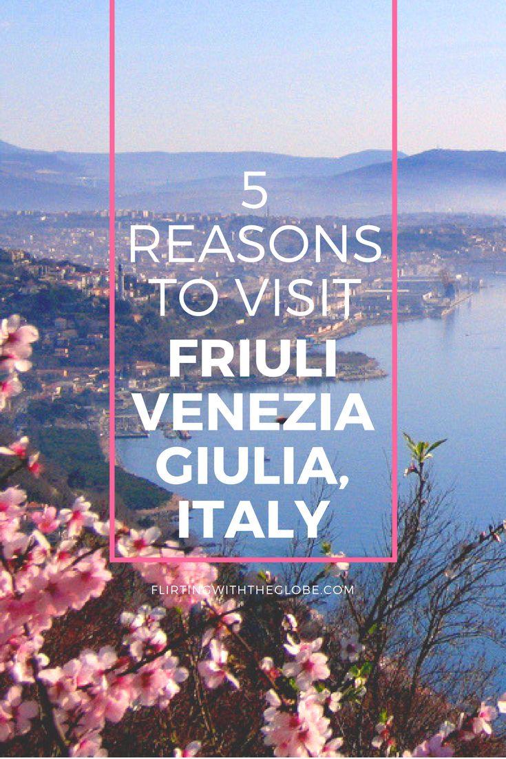 5 Reasons to visit Friuli Venezia Giulia, Italy. Click the pin to read the post from flirtingwiththeglobe.com ...