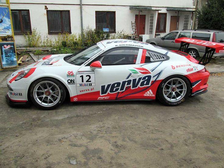 Oklejanie samochodów rajdowych Porsche