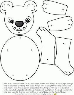 12 Best Images Of Polar Bear Worksheet Preschool