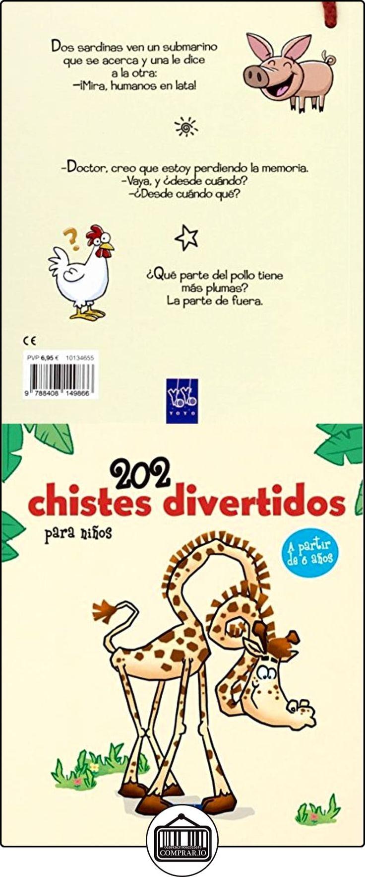 202 Chistes Divertidos Para Niños 1 YOYO ✿ Libros infantiles y juveniles - (De 6 a 9 años) ✿