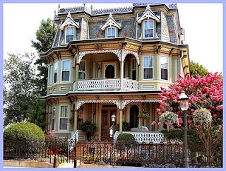 I would prefer it with a wraparound porch but I would definitely be happy with something like this too.