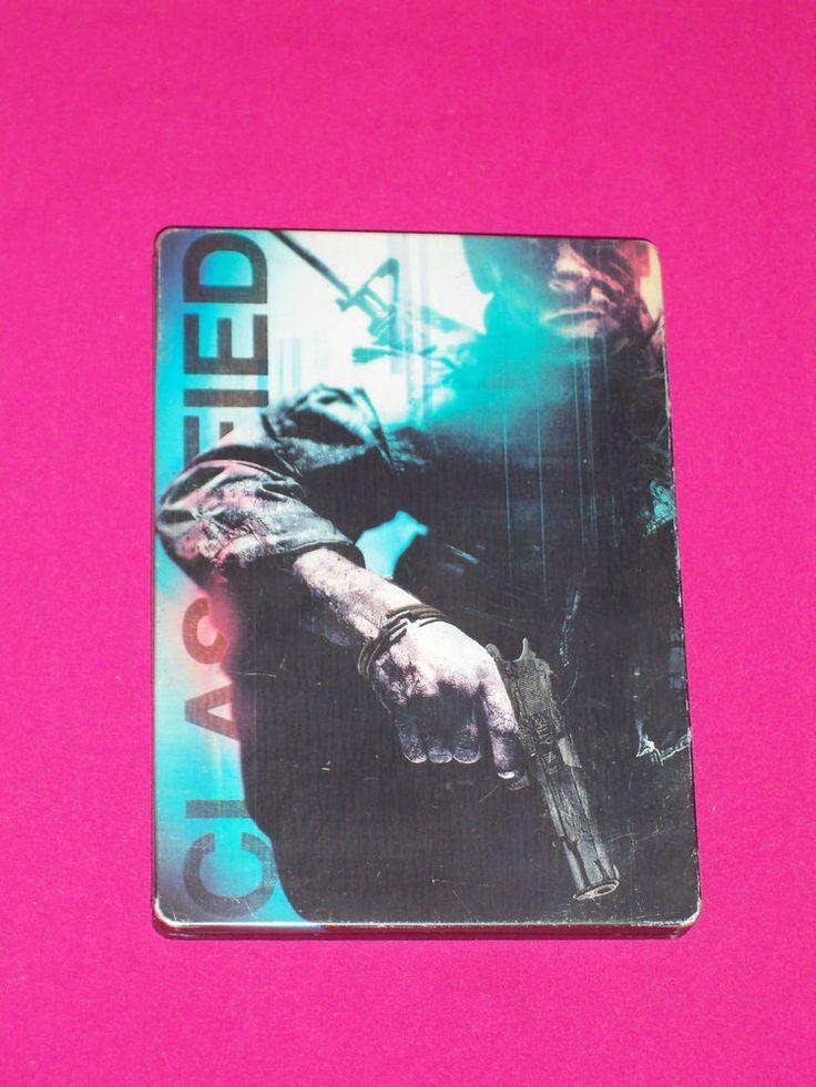 Call of Duty Black Ops 1 - Xbox 360 Game COD - Tin Steel Case ~ RARE ~ | eBay