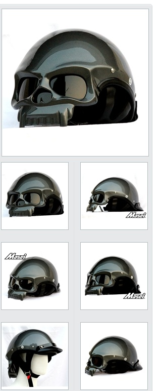 Masei Chopper Open Face Helmet