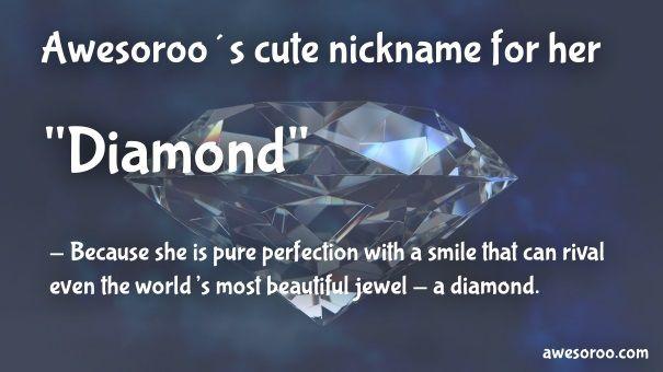nickname for her diamond 2