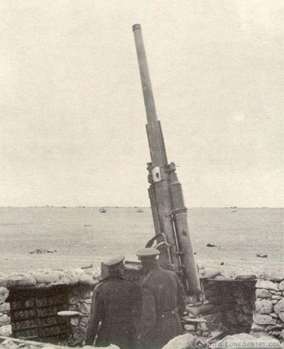 Italian 75-mm. Ansaldo gun - pin by Paolo Marzioli