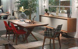 Ceviz yemek masası housecat