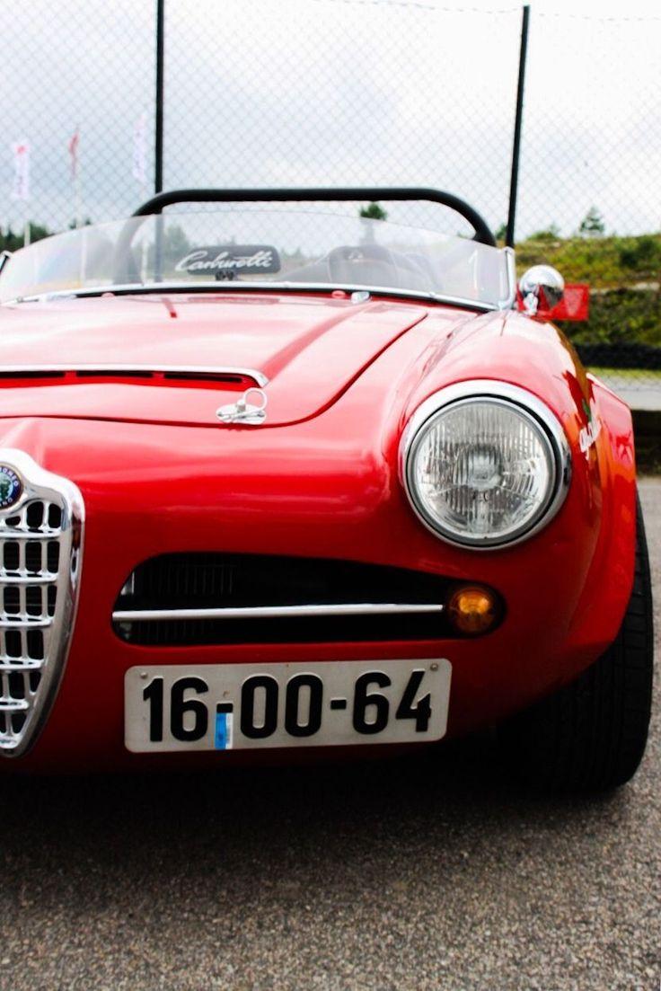 Alfa Romeo Giulietta Spider 1955-1964 (1964 Giulia Veloce)