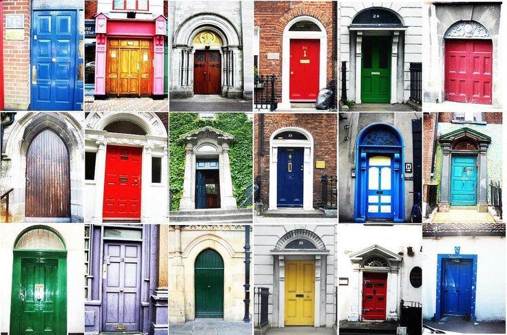 Seyahat edenler bilirler; her kapının ayrı bir hikayesi vardır. Ve gittiğimiz her yerde bizi önce kapılar karşılar. Bu rengarenk kapılar da İrlanda'nın başkenti Dublin'den  #sur #surçelikkapı #ireland #door #doors #travel #weekend