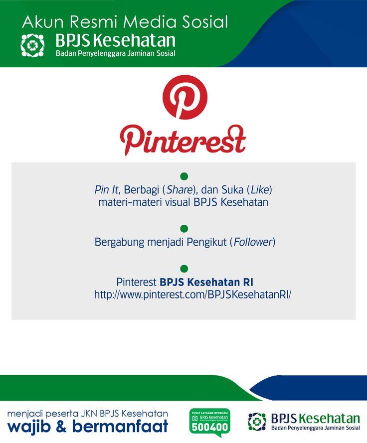 Media Sosial BPJS Kesehatan, Pinterest