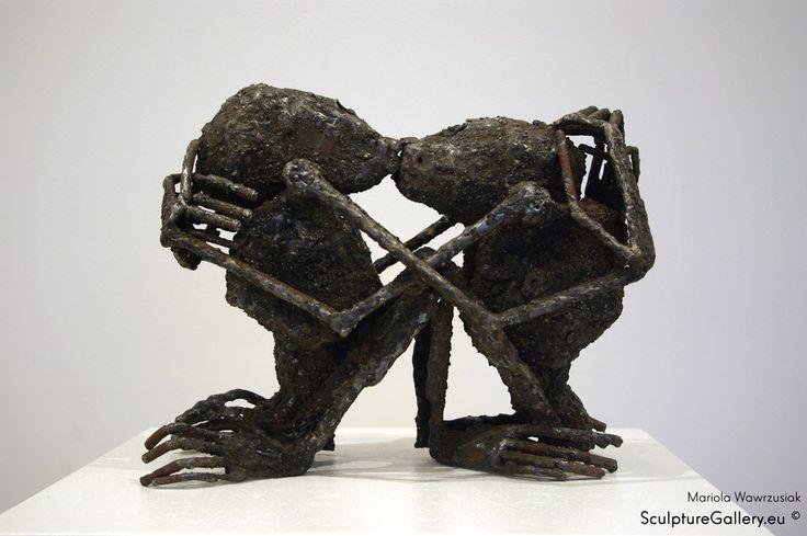 """Uczucia"" - Rzeźba, Mariola Wawrzusiak   Sculpture Gallery"