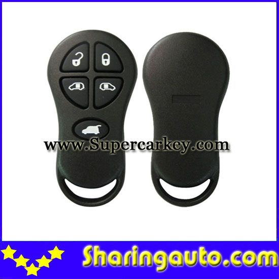 22.00$  Buy here - http://alip68.shopchina.info/go.php?t=32547223056 - Free shipping 5 Button Remote Keyless Shell For Chrysler Jeep #2 10 piece/lot  #magazine