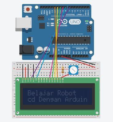 memprogram lcd pada arduino