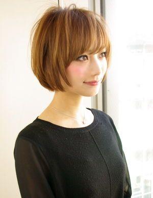 2014 春夏秋冬 黒髪 ボブヘアカタログ ベリーショート アレンジ髪型