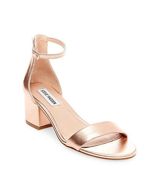 612f64fa39c Ankle Strap with Low Block Heel