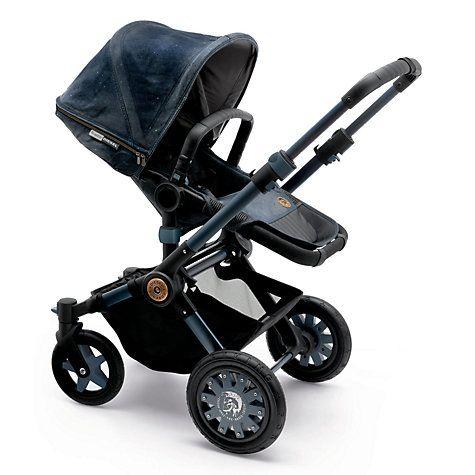 Bugaboo Buffalo Diesel II Baby Pushchair, Blue Denim http://www.parentideal.co.uk/john-lewis---bugaboo-buffalo-pushchair.html