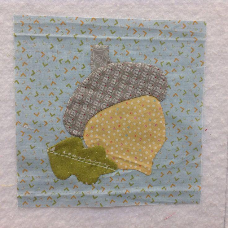 Fall bonus block for The Splendid Sampler quilt
