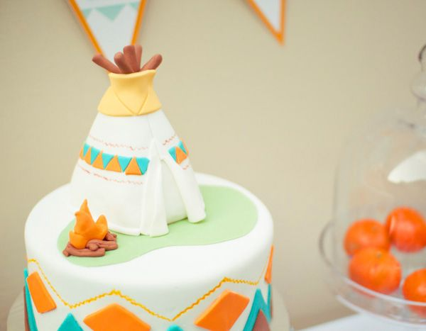 indian and cowboy party | Little Indian & Cowboy Birthday Party // Hostess with the Mostess®
