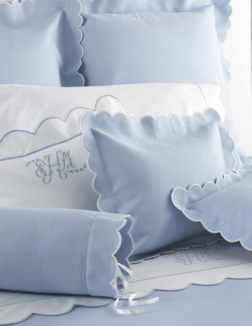 Diamond Pique Matouk Coverlet -- from Elegant Linens