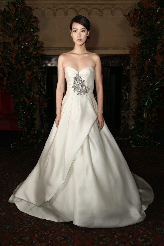 Austin Scarlett #Wedding Dresses Fall 2014 Collection. To see more: http://www.modwedding.com/2013/10/28/austin-scarlett-wedding-dresses-fall-2014-collection/