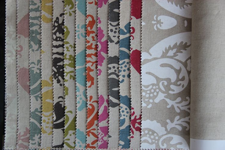 Linen Damask colourways