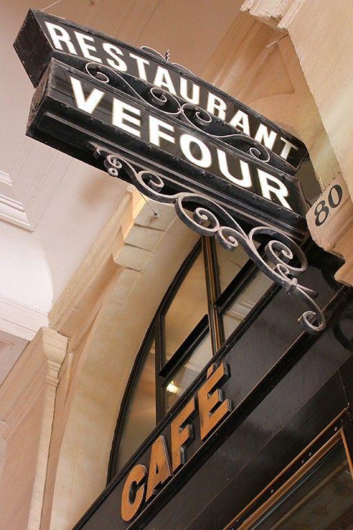 Le Grand Véfour - Relais & Chateaux. avec Guy Martin.