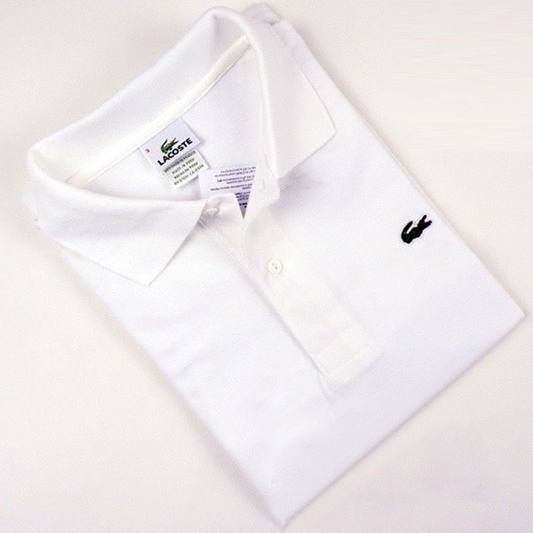 Men's Lacoste polo shirt white